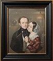 Theodore Deller with wife Elizabeth Sheremeteva by I.Makarov (1846, GIM) FRAME.jpg