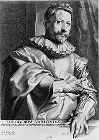Theodorus Vanlonius - Paul. duPont, sculp.; Ant. van Dyck, pinxit. LCCN2004665124 (cropped).jpg
