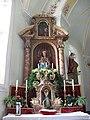 Thierbach, Kath. Pfarrkirche hl. Michael, linker Seitenaltar.JPG