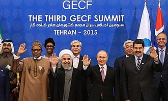 Muhammadu Buhari - Third GECF summit in Tehran, 22 May 2015
