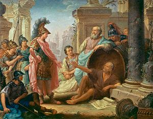 English: Thomas Christian Wink, Diogenes and A...