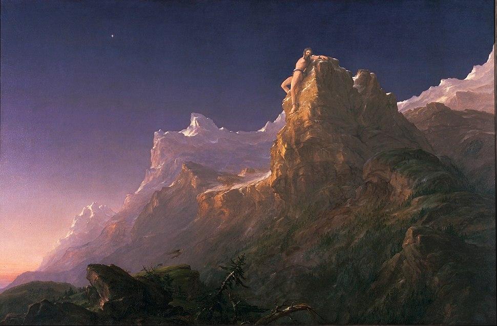 Thomas Cole - Prometheus Bound - Google Art Project