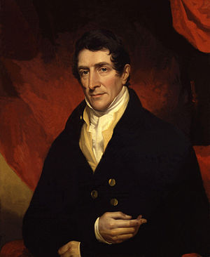 John James Halls - Portrait of Lord Denman