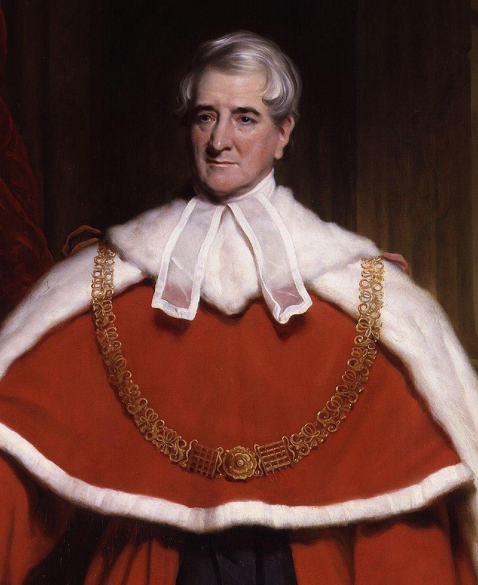Thomas Denman, 1st Baron Denman by Sir Martin Archer Shee crop