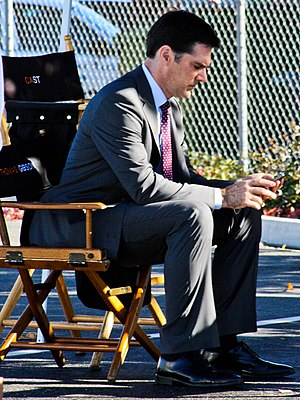 Aaron Hotchner - Thomas Gibson filming in 2010