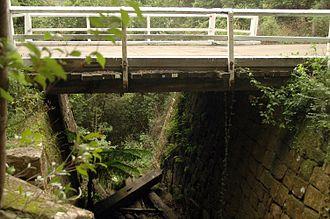 Great North Road (New South Wales) - Image: Thomas james bridge