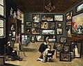 Thomas van Opshoven after David Teniers - An Artist in his Gallery.jpg
