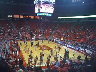 Thomas & Mack Center - Image: Thomasand Mackinside