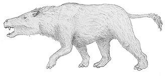 Toxodonta - Thomashuxleya reconstruction