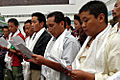 Tibetan Art Exhibition in Beijing - VOA - artists sing Tibetan chants.jpg
