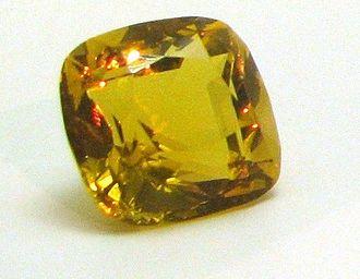 Tiffany Yellow Diamond - A copy of the unmounted diamond