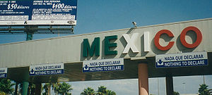 Border -  The United States–Mexico border: San Diego–Tijuana.