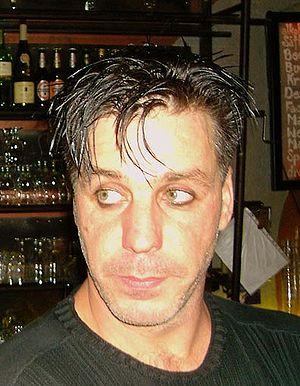 Till Lindemann (Singer of Rammstein) :Photogra...