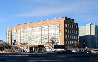 Communications Security Establishment - The Sir Leonard Tilley Building, former headquarters of the CSE