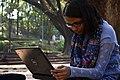 Tilottama Titlee at Wikipedia 15 good article edit-a-thon and adda, Chittagong 1 (05).jpg