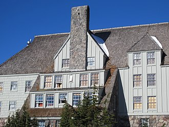 The Shining (film) - Timberline Lodge in Oregon served as the exterior of the Overlook Hotel.