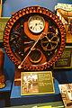 Timeclock used at Appleton Woolen Mills, Appleton, Wisconsin, late 1800s - Wisconsin Historical Museum - DSC03243.JPG