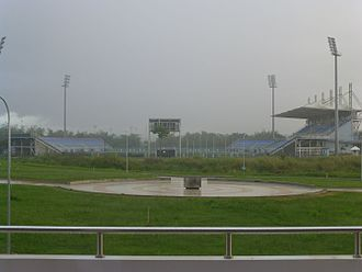 2010 FIFA U-17 Women's World Cup - Image: Tn T Ato Boldon Stadium