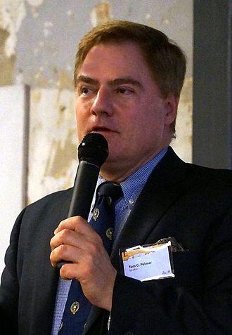 Tom G. Palmer - Tom Palmer in Athens, November 2014
