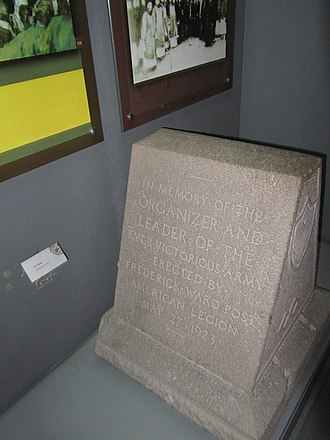 Frederick Townsend Ward - Ward's tombstone in Taiping Kingdom History Museum