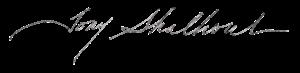 Tony Shalhoub - Image: Tony Shalhoub (signature)