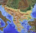Topografische kaart van het Balkanschiereiland (Nederlandse versie).png