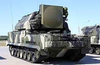 Tor missile system - 9K330 TLAR (rear view of the chassis)