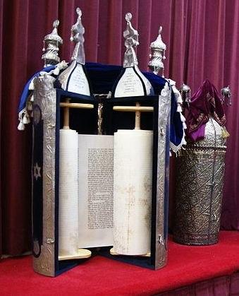 Torah scrolls in Chesed-El Synagogue, Singapore - 20100815-03