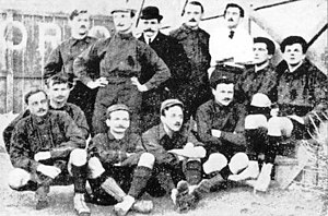 Torino F.C. - Torino players pose for a photograph dating back to 1906