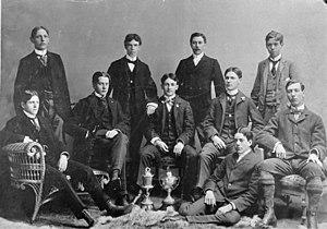 Toronto Wellingtons - Photo of club in 1897