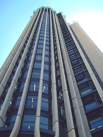 Torre Europa (Madrid) - Detail of the facade