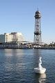 Torre de Jaume I (amb escultura flotant).JPG