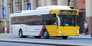 Torrens Transit - Australian Bus Manufacturing 160 bodied MAN NL202 CNG on Currie Street in June 2014