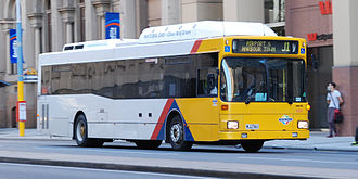 Torrens Transit - Australian Bus Manufacturing bodied MAN NL202 on Currie Street in June 2014