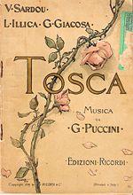 Libretto della Tosca, stampato nel 1899