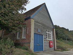 Yarmouth Lifeboat Station - Image: Totland Bay old lifeboat station