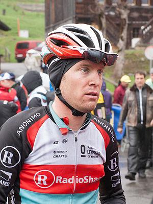 Jan Bakelants - Bakelants at the 2013 Tour de Romandie