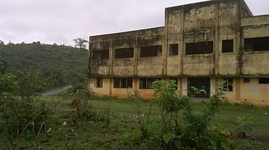 Abandoned Tourist Complex, Th. Rampur