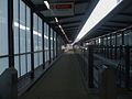 Tower Gateway DLR stn alighting platform look east.JPG