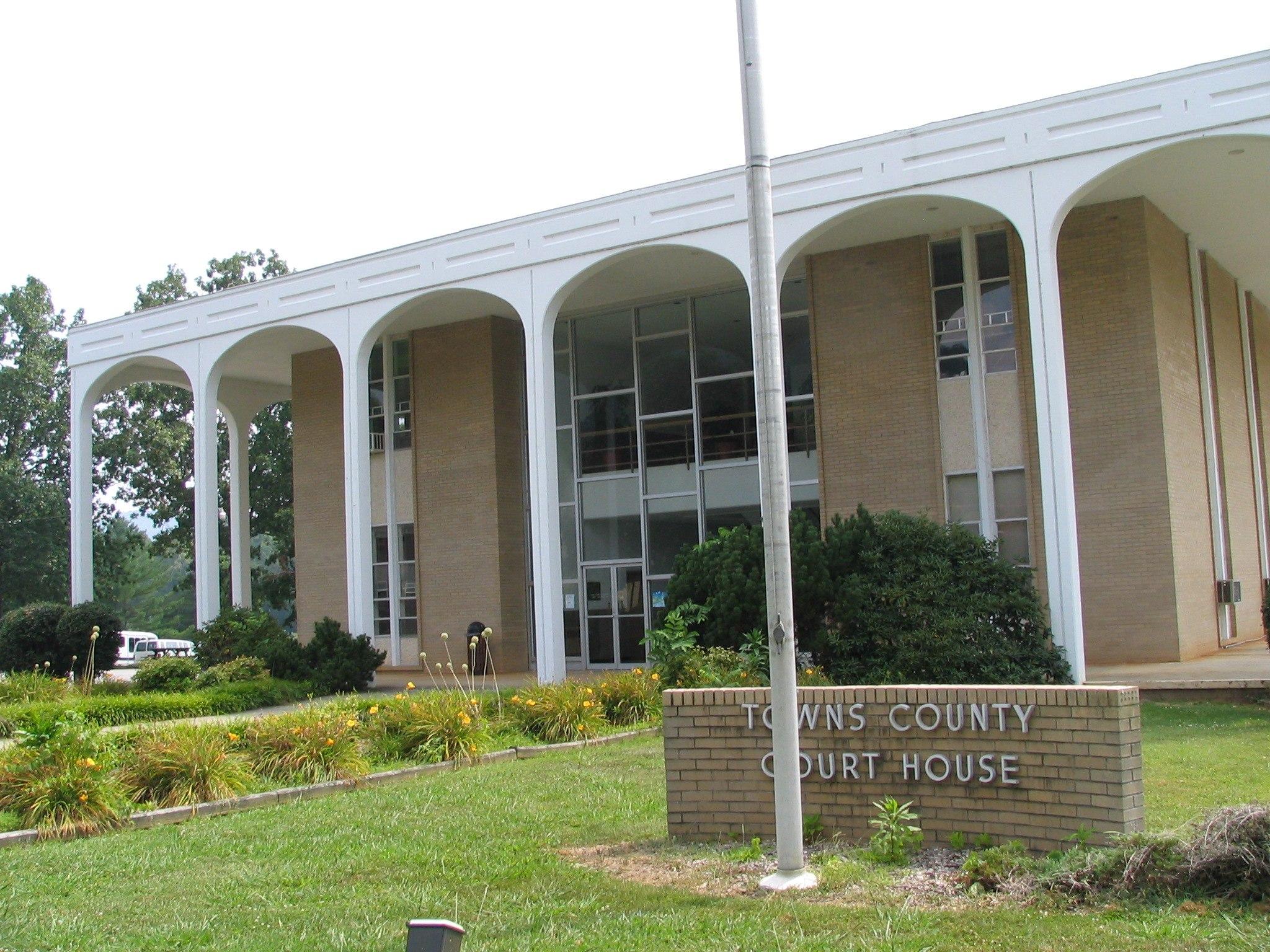 Towns County Georgia Courthouse