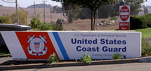 Training Center Petaluma - Entrance sign in 2008