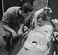 Training Zandvoort Grand Prix, Graham Hill (BRM), Bestanddeelnr 917-9726.jpg