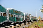 Trainspotting GO train -921 banked by MPI MP40PH-3C -613 (8123457595).jpg