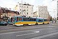 Tram in Sofia mear Macedonia place 2012 PD 014.jpg