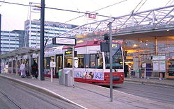 East Croydon station and tramstop