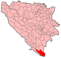 Trebinje Municipality Location.png