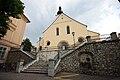 Treppe zur Pfarrkirche in Wolfsberg.JPG