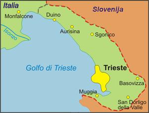 italien karte triest Provinz Triest – Wikipedia