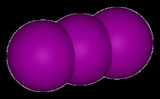 Ammonium triiodide chemical compound