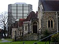 Trinity Church and office building - Sutton, Surrey, Greater London.jpg